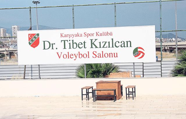 Tesis içindeki Dr.Tibet Kızılcan adına yapılan voleybol salonunun soyunma odaları modernize edildi.