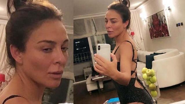 Sosyal medyada makyajsız ve filtresiz selfie paylaşma modasına Ziynet Sali de uydu.