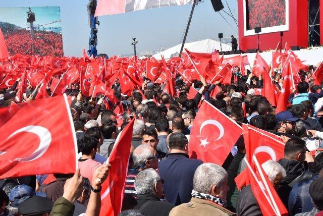 AK Parti ve MHP liderleri, bugün İzmir'de ilk ortak mitinglerini gerçekleştiriliyor.