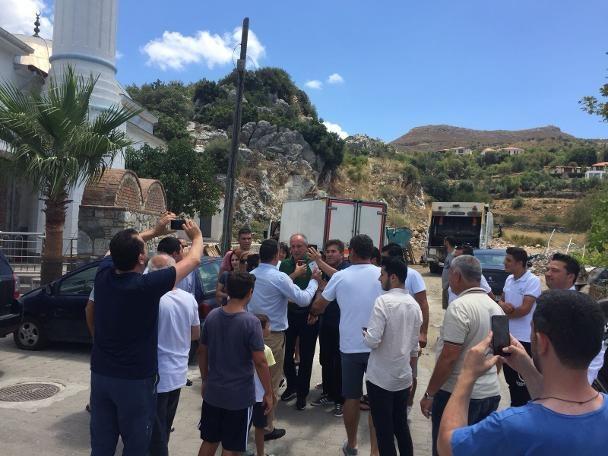 CHP'nin Cumhurbaşkanı adayı Muharrem İnce, 24 Haziran seçimlerinin ardından birkaç günlük tatil yapmak için Marmaris'e geldi