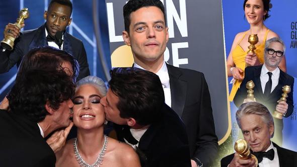 Sinemada ödül sezonu resmen başladı. Oscar'ın habercisi olarak nitelendirilen 76'ıncı Altın Küre (Golden Globe) ödülleri sahiplerini buldu.   Hollywood Yabancı Basın Birliği tarafından 1944'ten beri verilen ödüller Beverly Hills'teki The Beverly Hilton'daki törenle açıklandı. İşte gecenin en iyileri.   Adaylar açıklandığında şaşkınlık yaratmayan Altın Küre'de bazı sonuçlar ise sürpriz oldu.Beş dalda aday gösterilen ve törenin en iddialı yapımlarından biri olan A Star is Born, en iyi orijinal şarkı dışında hiçbir ödül alamadı. A Star is Born'un en iddialı olduğu drama dalında en iyi sinema filmi ödülünü Bohemian Rhapsody'ye kaptırdı. Gecenin bir başka sürprizi ise Green Book'tan geldi. En iyi komedi dalında çok iddialı olan Vice'e geride bırakan Green Book bu dalda Altın Küre'nin sahibi oldu.