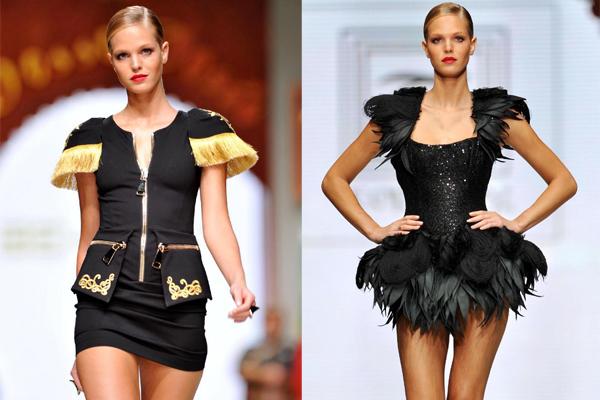 'Kızıl Ajan' lakaplı Rus casus Anna Chapman, Antalya'da düzenlenen Fashion Show defilesinde Victoria's Secret mankenlerinden Erin Heatherton ile birlikte podyuma çıktı. Chapman, defilede kırmızı ve siyah renklerin hakim olduğu bir gece elbisesi giydi.