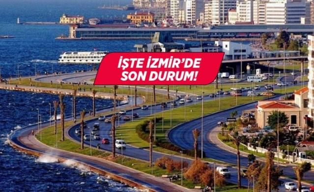 Sağlık Bakanlığı tarafından hazırlanan Hayat Eve Sığar uygulaması bir süreden bu yana vatandaşlar tarafından kullanılıyor. Uygulama ile korona virüs yoğunlukları bölge bölge görülebiliyor.  İşte İzmir'de riskli ve güvenli olan bölgeler...