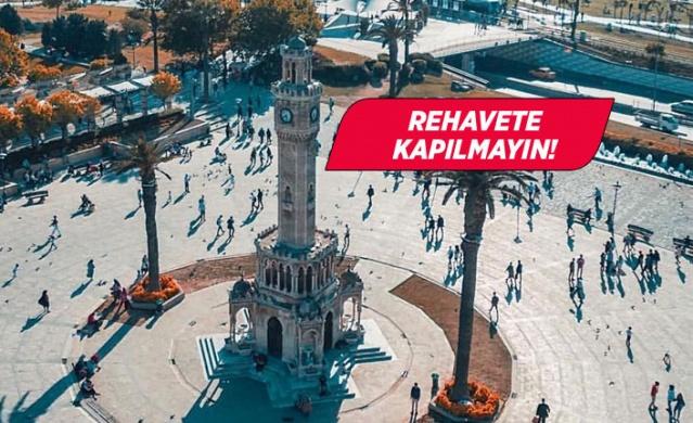 Günlük vaka ve ölüm oranlarının zirve yaptığı İzmir'de, alınan önlemler netice verdi ve kent 'yeşillenmeye' başladı