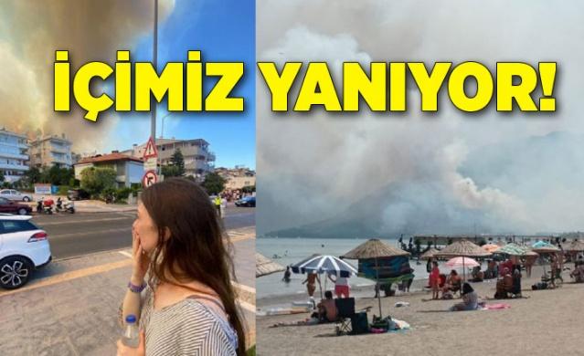 Türkiye'de dünden bu yana 30 ayrı noktada başlayan yangınların söndürülmesi için yoğun bir mücadele yaşanıyor.