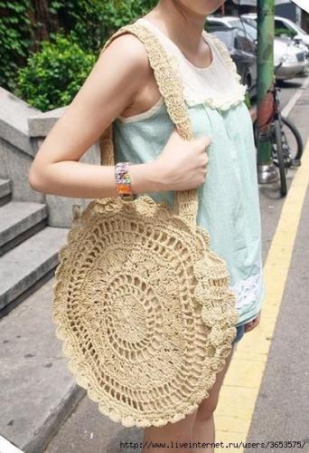 ÖRGÜ ÇANTALAR: IN   Örgü çantalar bu yaz oldukça moda. Kullanımı çok rahat ve pratik olan bu çantalar çok sevilecek gibi gözüküyor.