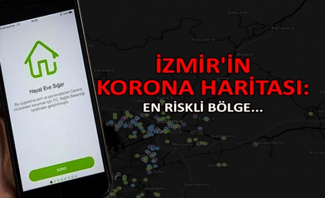 Koronavirüsüyle ilgili bölgelere göre yoğunluk ve risk haritasını gösteren, Hayat Eve Sığar uygulaması Sağlık Bakanlığı tarafından geliştirilerek hizmete sunuldu.  Corona risk haritasını görüntülemek üzere, iPhone, Android telefon ve tabletlerde Hayat Eve Sığar aplikasyonu App Store ya da Google Play üzerinden indirilerek kullanılıyor.
