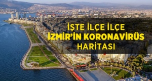 İzmir'in korona haritası güncellendi: Hangi ilçeler riskli?