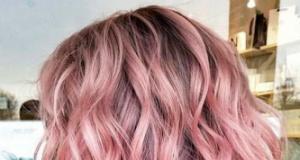 Yeni trend alarmı: rose-pembe saçlar