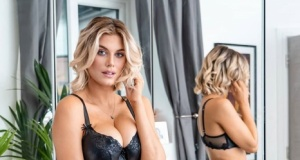 Ashley James'dan seksi paylaşımlar