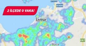 İzmir'in korona haritası güncellendi: 2 ilçede 0 vaka!
