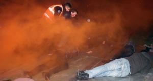 İzmir tramvayında yangın tatbikatı