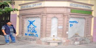 Manisa'da Tarihe Tepki Çeken Saygısızlık
