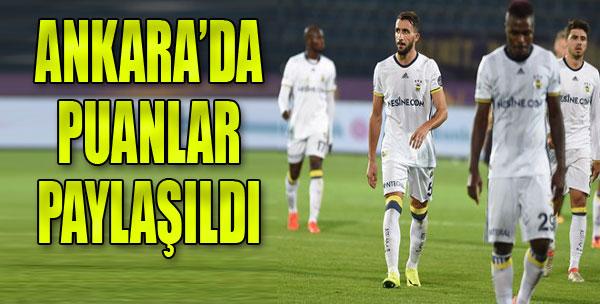 Fenerbahçe'ye Osmanlı Freni