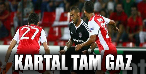 Skenderbeu: 0 - Beşiktaş: 1