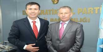 Başkan Aslan'dan DSP'ye Ziyaret