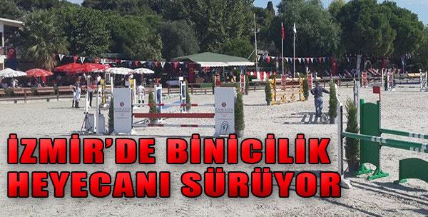 İzmir'de Binicilik Heyecanı Sürüyor