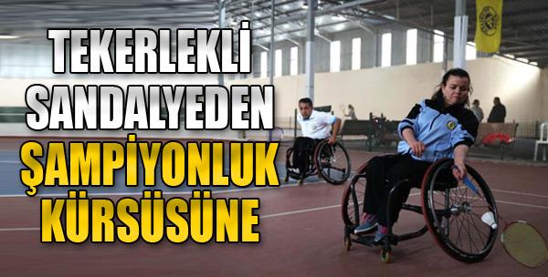 Tekerlekli Sandalyeden Şampiyonluk Kürsüsüne