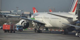 Atatürk Havalimanı'na Zorunlu İndi
