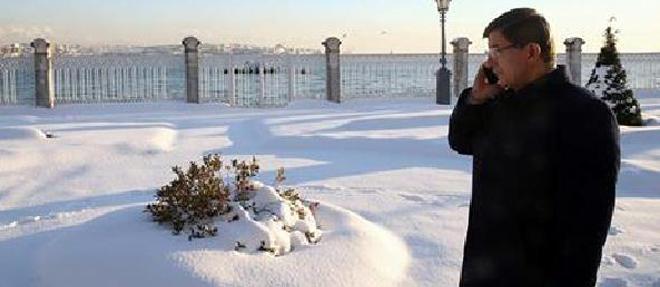 Başbakan Kar Fotoğrafı Paylaştı