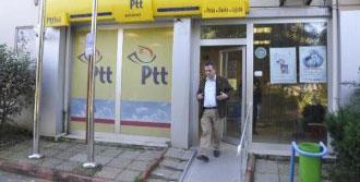 Ptt'nin Kasasındaki 7 Bin Lirayı Çaldılar