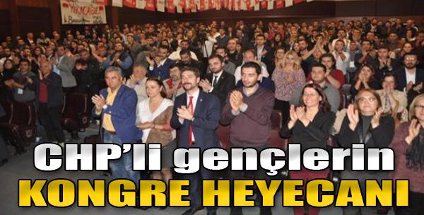 CHP'li Gençlerin Kongre Heyecanı