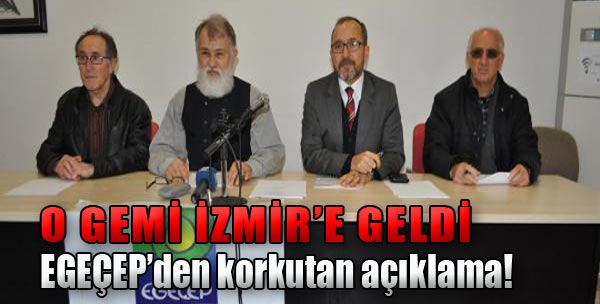 Kuito Gemisi İzmir'de
