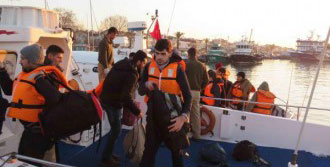 Suriyeli 67 Göçmen Yakalandı