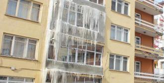 Erzurum'da Sibirya Soğukları