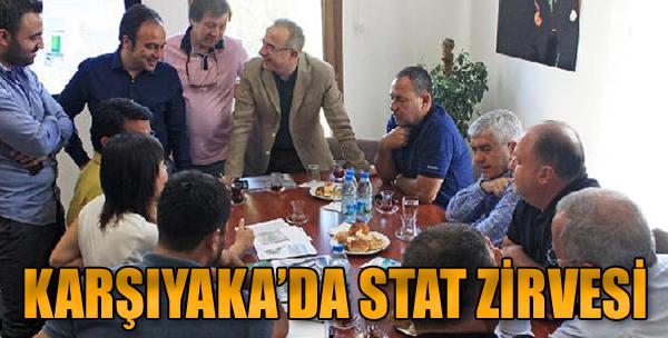 Karşıyaka'da Stat Zirvesi
