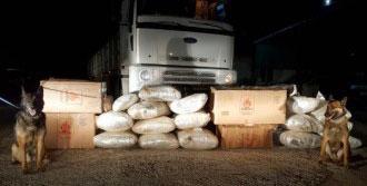 Tır'da 1 Milyon Liralık Uyuşturucu Ele Geçirildi