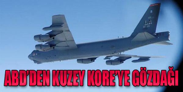 Kuzey Kore'ye 'B-52' ile Gözdağı