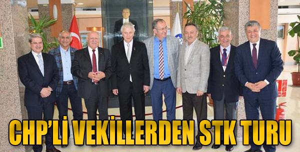 CHP'li Vekillerden STK Turu