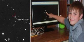 10 Yaşında Süpernova Keşfetti