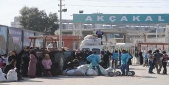 1000 Suriyeli Ülkelerine Döndü