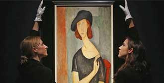 Modigliani'nin Portresi Satıldı