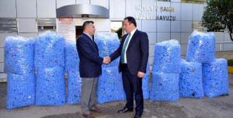 Erbaa'da 120 Bin Mavi Kapak Toplandı