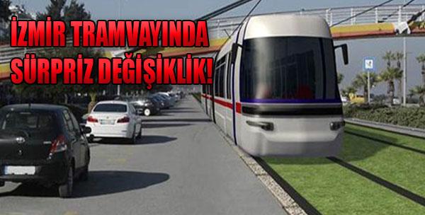 İzmir'in Tramvayının Güzergahı Değişti