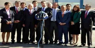 CHP'li Milletvekillerinden Ziyaret