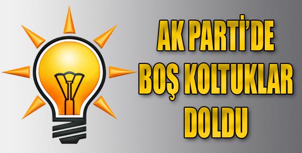 AK Parti'de Boş Koltuklar Doldu
