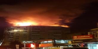 13 Katlı Binada Yangın Korkuttu