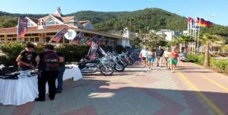 1300 Motosikletli Marmaris'te Buluştu