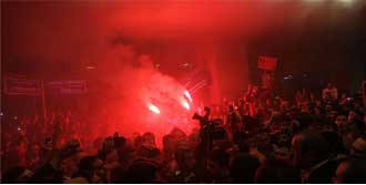 M.United'a Olaylı Karşılama