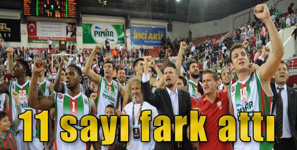 Pınar Karşıyaka-Zielona Gora: 77-66