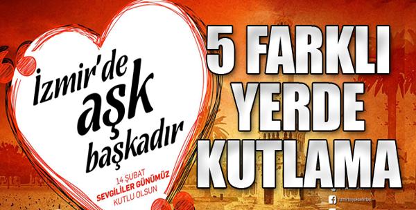 İzmir'de Danslı ve Konserli 14 Şubat