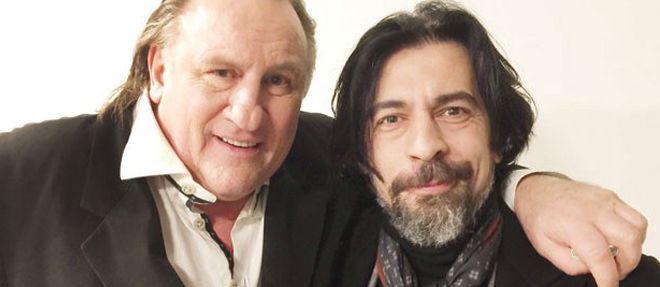 Depardieu ile Hatıra Fotoğrafı