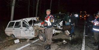 Simav'da Korkunç Kaza
