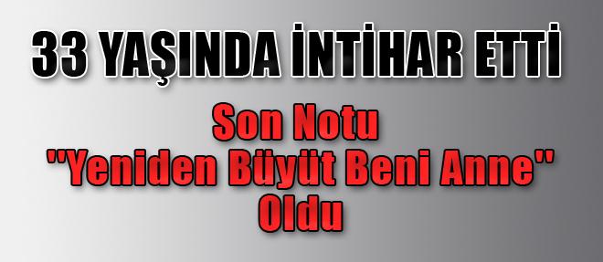 Antalya'da İntihar