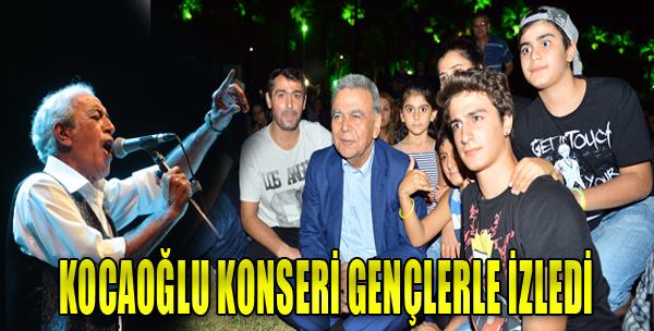 Başkan Kocaoğlu'nun Konser Keyfi
