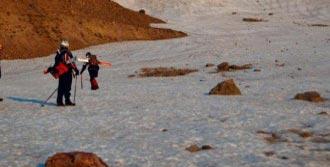 Erciyes'in Zirvesinde Yaz Kayağı Keyfi